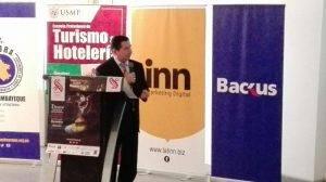 Lindon Vela Meléndez, Gerente de Turismo y Comercio Exterior del Gobierno Regional de Lambayeque.