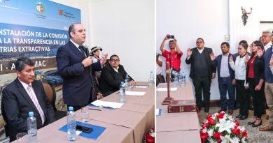 Instalan Comisión Regional para la Transparencia en las Industrias Extractivas – EITI Apurímac