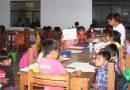 Niños y niñas aprenden dibujo,  danza, repostería y música en  vacaciones útiles