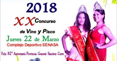 Presentan actividades del XII Festival de la Vendimia y XX Concurso de Piscos y Vinos.