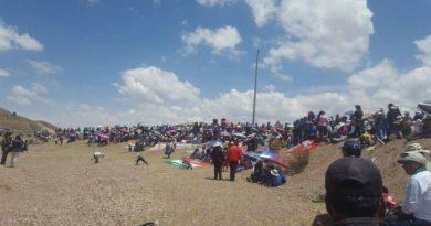 Provincia de Azángaro es paralizada por 24 horas