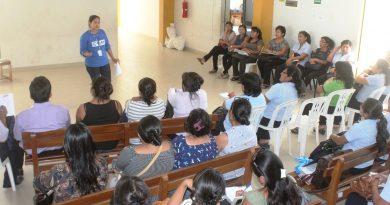 Capacitación para prevenir embarazos adolescentes en La Unión – Piura