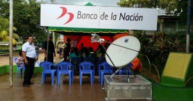 Calca – Cusco: Instalan agencia móvil del  Banco de la Nación para atender en emergencias