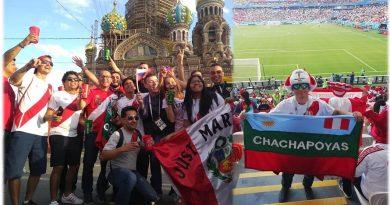 Chachapoyanos en Rusia alentarán a Perú frente a Francia