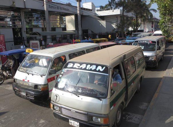 Transportistas anuncian paro por incumplimiento de Ordenanza Municipal
