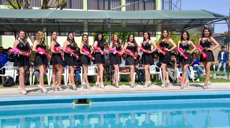 Tacna: Doce bellas candidatas disputan por corona de reina