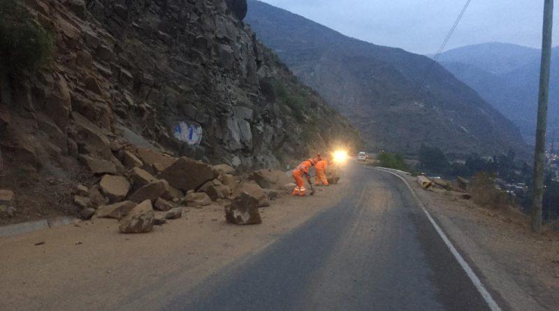 Huancavelica: Sismo de 4.6 dejó carreteras y viviendas afectadas