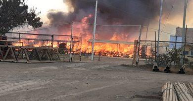 Piura: Pobladores de El Alto queman módulos y flota vehicular de la empresa Confipetrol y CPNC