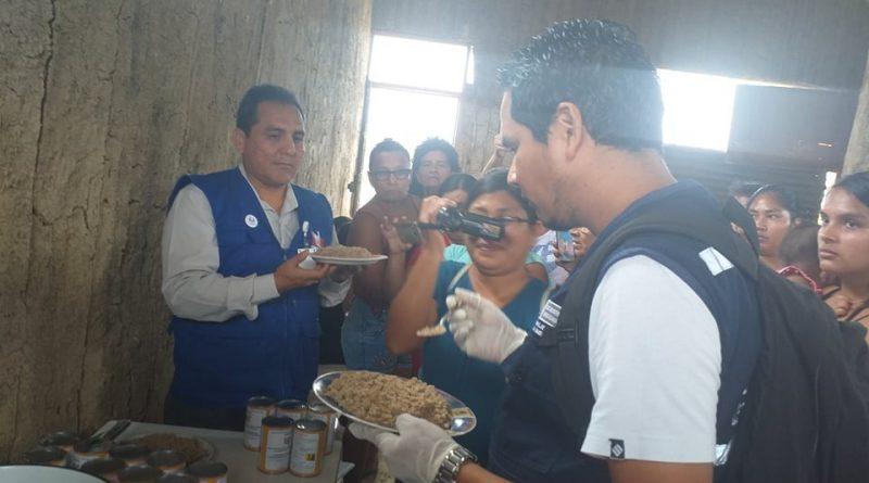 Tumbes: Encuentran gusanos en lata de conserva de anchoveta, destinada a los Comedores Populares