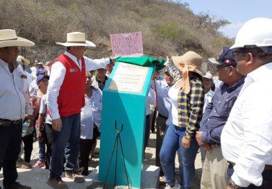 Lambayeque: Ministerio de Agricultura inauguró rehabilitación de infraestructura de riego en Motupe