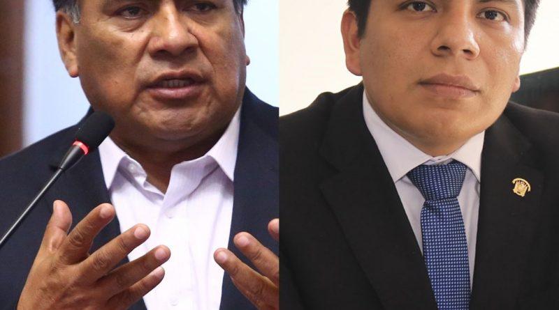 Lambayeque: Fiscalía resuelve formular denuncia constitucional contra excongresistas Velásquez y Palma