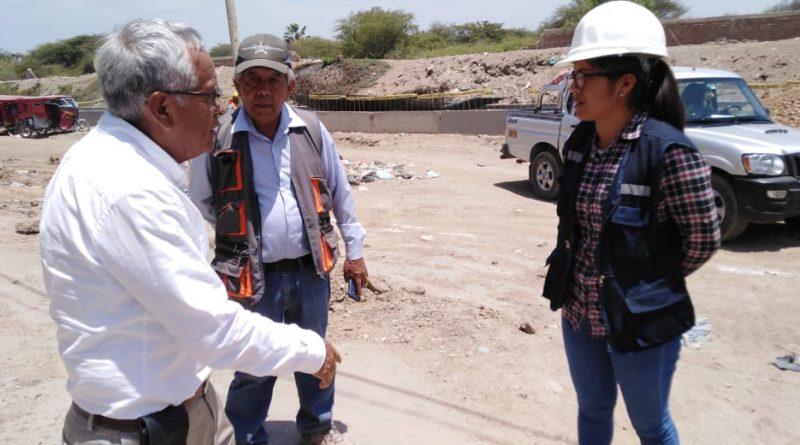 Lambayeque: Gobernador regional inspecciona avance de obras en Chiclayo y Ferreñafe