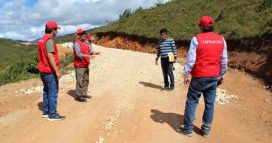 Lambayeque: En distrito de Kañaris detectan perjuicio económico por 2 millones 700 mil en vía carrozable