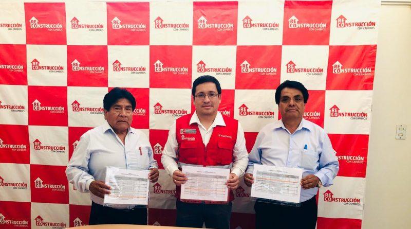 Lambayeque: Reconstrucción Con Cambios entrega decretos de transferencia a municipios de Pimentel, Nueva Arica y Kañaris