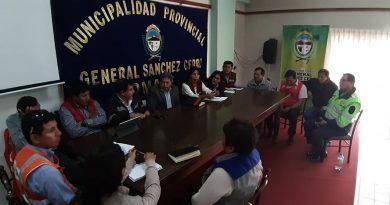 Moquegua: Comité de Apoyo para asfaltado de la Carretera Moquegua-Omate-Arequipa se reunión de emergencia.
