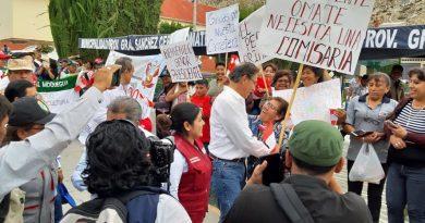 Moquegua: Presidente Martin Vizcarra visito Omate