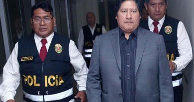 Lambayeque: Juez del octavo juzgado declara infundado cese de prisión preventiva en contra de Edwin Oviedo