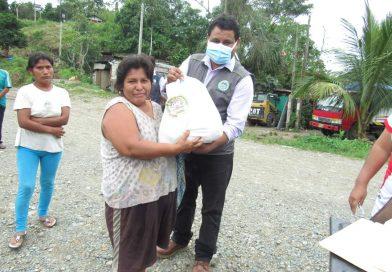 Madre de Dios: Municipalidad Provincial de Manu hace entrega de víveres a familias vulnerables