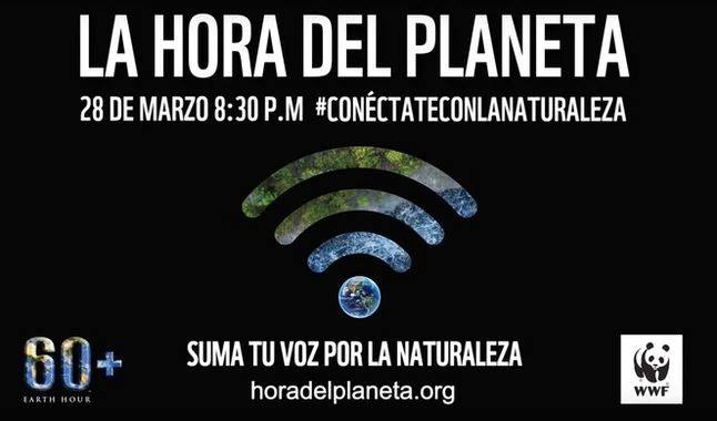 Lima. Hora del Planeta   es sábado 28 de marzo  8.30pm.