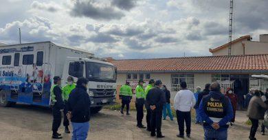 Puno: Refuerzan control policial y vigilancia sanitaria en Imata, vía Arequipa – Juliaca
