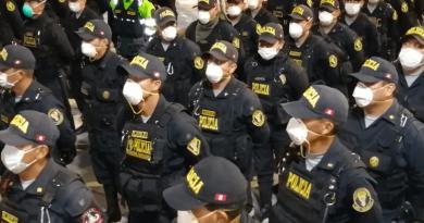 Junín: Policía Nacional alerta ante temor de actos vandálicos en Huancayo