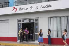 Moquegua: Suspenden atención en Banco de la Nación hasta próximo 29 de Julio