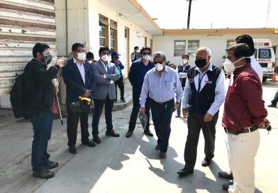 Lambayeque: Entregan Planta de Oxígeno al Hospital Referencial de Ferreñafe