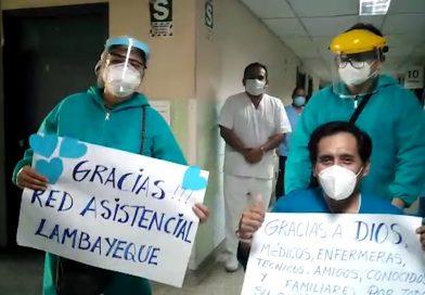 Lambayeque: Trabajador de EsSalud Lambayeque venció el estadío grave del Covid-19 luego de tres meses de hospitalización