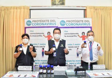 Madre de Dios: La región produce mil dosis diarias de ivermectina que se distribuyen en Centros de Salud