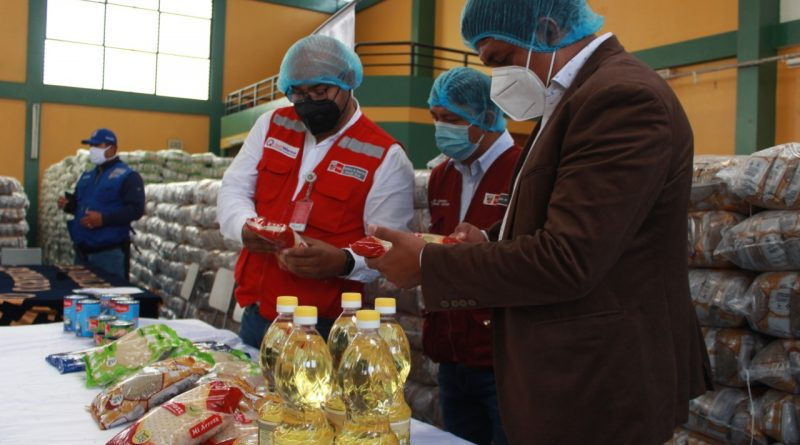 Lambayeque: Lambayeque: Qali Warma entrega 450 toneladas de alimentos a Municipalidad Distrital de José Leonardo Ortiz