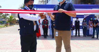 Lambayeque: Balneario de Pimentel inaugura el primer malecón bioseguro del país.