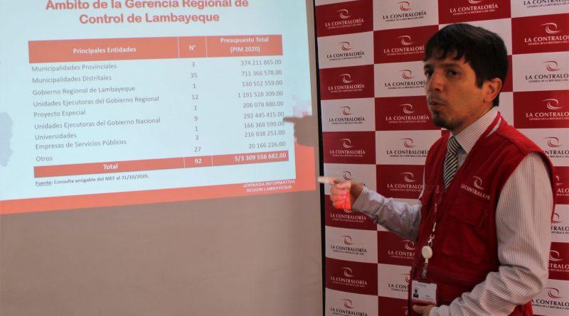 Lambayeque: Contraloría detectó perjuicio de S/ 2 millones 800 mil en obras y servicios