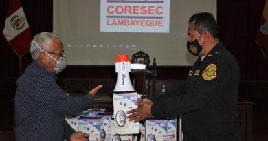 Lambayeque: Exponen Plan de acción de Seguridad Ciudadana para festividades de Navidad y Año Nuevo