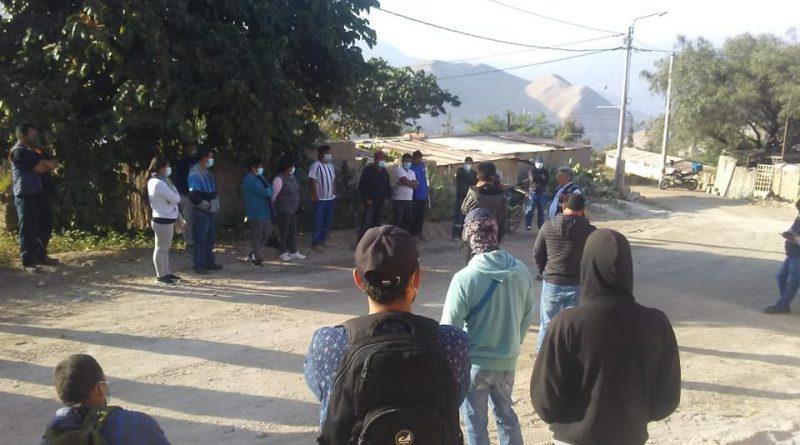 Moquegua: Trabajadores de Construcción Civil realizan planto a Consorcio Sánchez Cerro