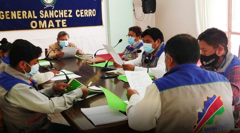 Moquegua: Conforman Comisiones permanentes de Regidores en Municipio de Sánchez Cerro