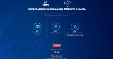 Nacional: Miembros de mesa de la Segunda Elección Presidencial deben validar sus datos en web de la ONPE