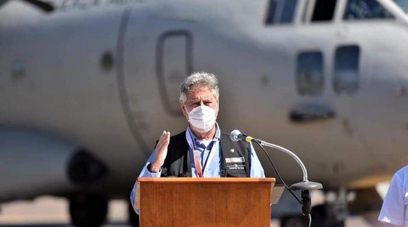 Madre de Dios: Presidente Sagasti anuncia la construcción de una nueva planta de oxígeno en el Hospital Santa Rosa