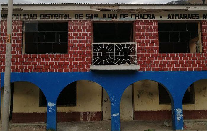 Apurímac: Alertan sobre posible enfrentamiento entre pobladores y mineros informales en San Juan de Chagña