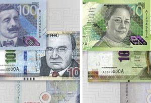 Nacional: Banco Central de Reserva pone en circulación billetes de S/.10 y S/.100