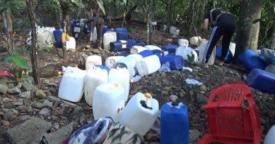 Apurímac: Destruyen más de 50 toneladas de insumos químicos para elaboración de drogas en el VRAEM