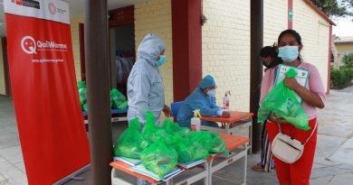 Lambayeque: MONITORES DE GESTIÓN LOCAL SUPERVISAN SERVICIO ALIMENTARIO DE QALI WARMA EN LAMBAYEQUE