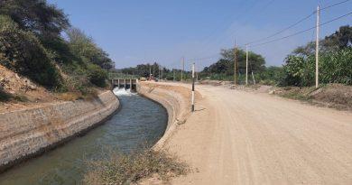 Lambayeque: Rehabilitación de zona afectada por desborde del recurso hídrico a la altura del km 16 Sector la Rápida del canal Taymi
