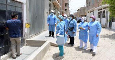 Lambayeque: Vacunación contra Covid-19 casa por casa se traslada a Pueblos Jóvenes de Chiclayo